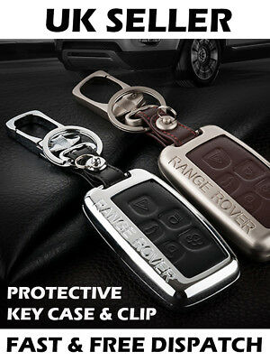 Range Land Rover Leather Car Key Remote Case Shell Cover Discovery Evoque Sport