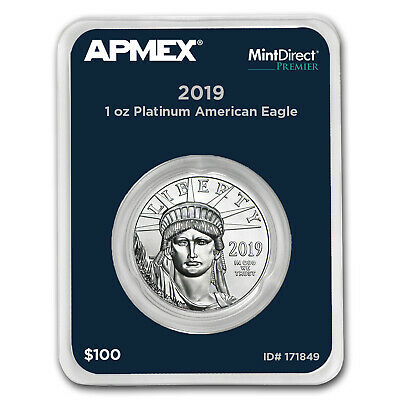 2019 1 oz Platinum American Eagle (MintDirect® Premier Single) - SKU#171849
