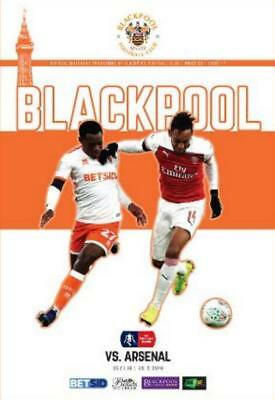 * 2018/19 - BLACKPOOL v ARSENAL (FA CUP - 5th January 2019) *