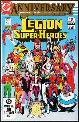 The Legion Of Super-Heroes #300 1st Appearance of Garfield the Cat in Comics!