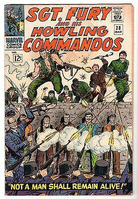 Sgt. Fury and His Howling Commandos #28, Very Good Condition