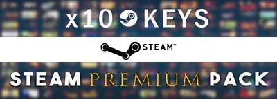 x10 PREMIUM - GLOBAL Random Steam CD Keys