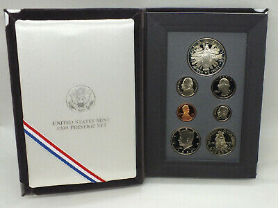 1992 Prestige Set & Citrus Altius Fortius Coin - U.S. Mint Commemorative - RW292