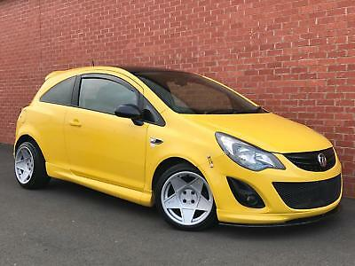 VAUXHALL CORSA 1.2 i 16v LIMITED EDITION 2013 (63 Reg) Manual. Petrol.