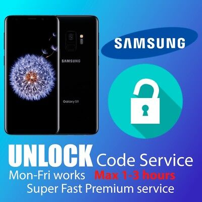UNLOCK CODE FOR SAMSUNG GALAXY Note 3 4 5 6 7 8 9 EE O2 VODAFONE THREE