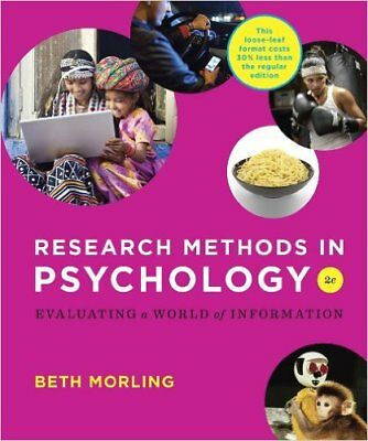 Research Methods in Psychology:Evaluating a World ...2th (**Version_Eb00k**)