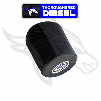 S/&B Cold Air Intake Filter Wrap//Sleeve11-16 Ford 6.7L Diesel WF-1031