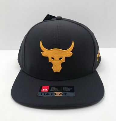 73a2ce9d54a ... netherlands new under armour hat ua x project rock supervent snapback  cap ae4b7 89d12