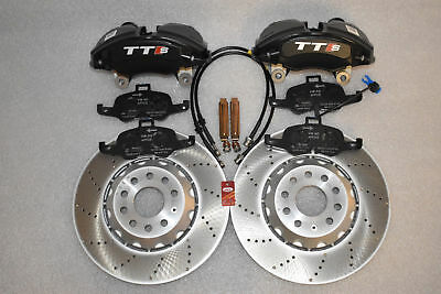 Audi TTS 8S black 4 piston brake calipers ClubSport Audi S3 8v 8p, Golf 5, 6, 7