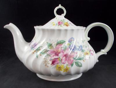 Royal Doulton ARCADIA H4802 Teapot GREAT CONDITION with Green Backstamp