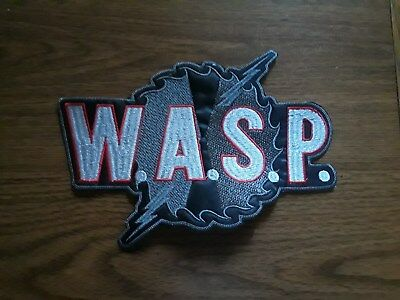 Wasp,sew On Embroidered Large Back Patch