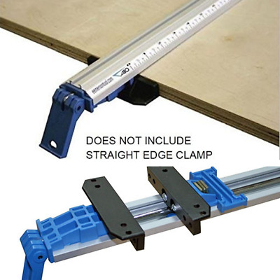 """All in One Clamp Guide Straight Edge Clamping Tool 50"""" Contractor Saw Cutting"""