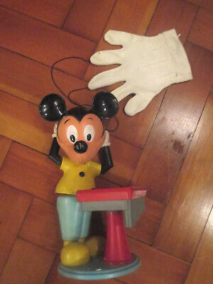 RARE VINTAGE MICKEY MOUSE GLOVE PUPPET 1960s