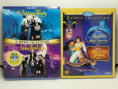 Return of Jafar/Aladdin King Thieves/Teen Titans Go To.. Blu-ray+Slip No Digital