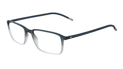 e38f6a1d12 NEW Silhouette SPX Illusion Fullrim 2912 Eyeglasses 4510 blue 100% AUTHENTIC