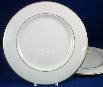 Lenox MANSFIELD 2 Luncheon Plates GREAT CONDITION LIGHTLY USED