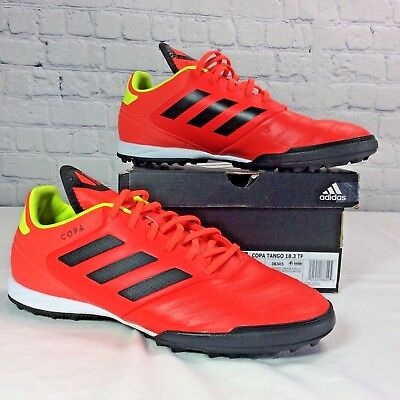 44375ad7e57 Adidas Men s Copa Tango 18.3 TF Turf Soccer Shoes Cleats Solar Red - DB2415  0064