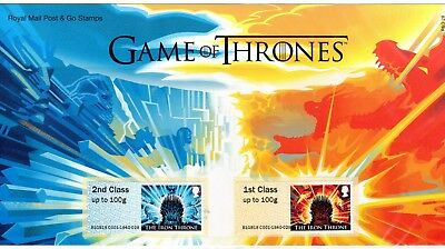 2018 Game of Thrones Post and Go Stamp Set Presentation Pack - Offers accepted!!