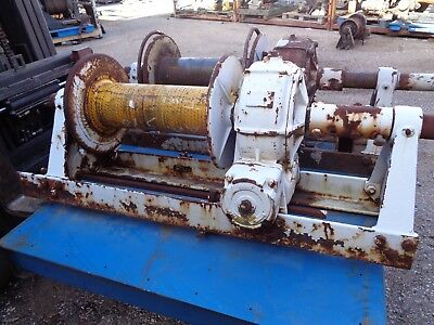BRADEN winch model: AMS10-18 with extension shaft
