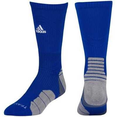 0c498fa1c Adidas Men's Women's Traxion Menace Crew Soccer Football Basketball Socks  Large