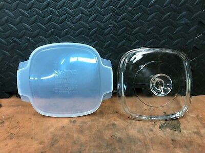 New CorningWare A-1/ A-1 1/2 Glass & Plastic Storage covers only