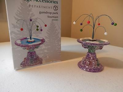 Department 56 (NEW) Gumdrop Park Fountain  #4054223 (FREE SHIPPING)