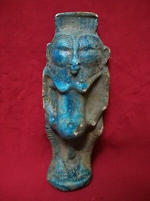 Ancient Egyptian Antiquities Statue of God Bes (4th–1st century BC)