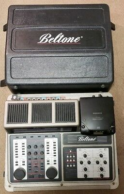 Beltone Audiometer L-211 Audio Expert Master Hearing Instrument Case Microphone