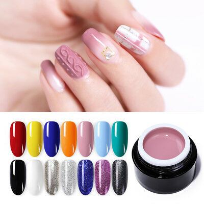 BORN PRETTY 3D 2 in 1 UV Gel Polish Glitter Micro-carving Painting Gel Nails DIY