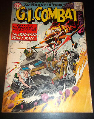 G.I. Combat # 108  Sgt. Rock 1st Crossover to G.I. Combat