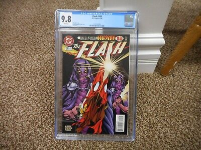 Flash 108 cgc 9.8 DC 1995 1st appearance of Savitar TV show MINT WHITE pgs movie