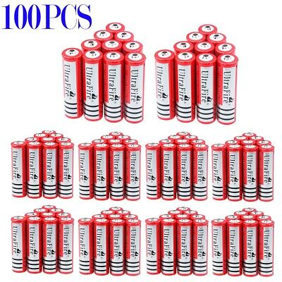 Lot UltraFire 18650 Battery 3.7V 3000mAh Li-ion Rechargeable For led Torch USA