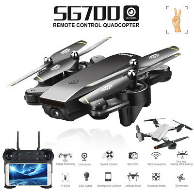 2MP Dual HD Camera RC Drone FPV Foldable Quadcopter Optical Flow Positioning