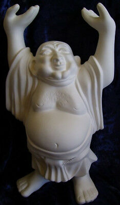 Ready to Paint Ceramic Bisque- Large Buddha