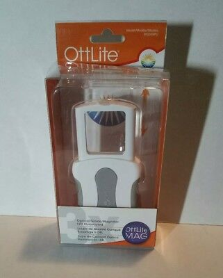 NEW!! OTTLITE Optical Grade Magnifier LED Illuminated - MG009PU