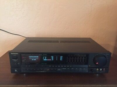 Technics SA-R277 Quartz Synthesizer Stereo Receiver - Very Good - Working