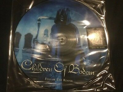 CHILDREN OF BODOM Follow the Reaper Picture Vinyl LP Back On Black
