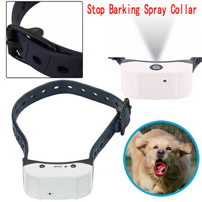 Iseful USB Rechargeable Dog Citronella Stop Barking Spray Training Collar 2Style