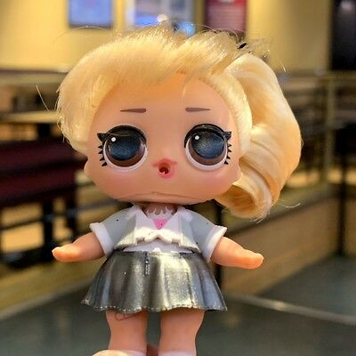 """LOL Surprise Doll Makeover Series HAIRGOALS Big Sister Blonde Hair 3"""" figure toy"""