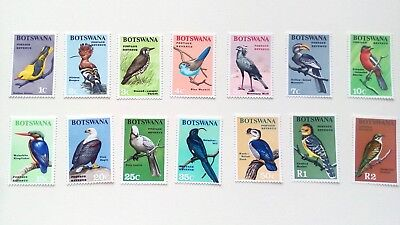 Flora Africa Stamps Botswana 258-261 Mint Never Hinged Mnh 1980 Christmas