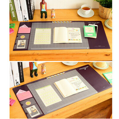 Waterproof PVC Anti-Slip Large Size Desk Computer Laptop'Mouse Pad Protector Mat