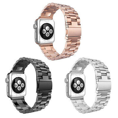 38/42mm Acero inoxidable Correa reloj Corchete para Apple Watch Series1/2/3