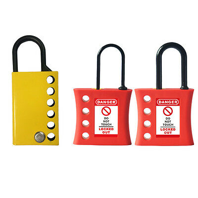 MT88 BEIAN-LOCK Safety Padlock Lockout Hasps Non-Conductive Tagout Nylon Plastic