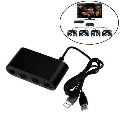 Portable 4 Port GameCube NGC Controller Adapter for Wii U,Nintendo Switch,PC USB
