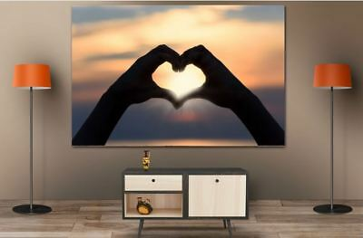 LOVE SCENERY HOME WALL DECOR BEAUTIFUL PictureS Art Canvas choose your size