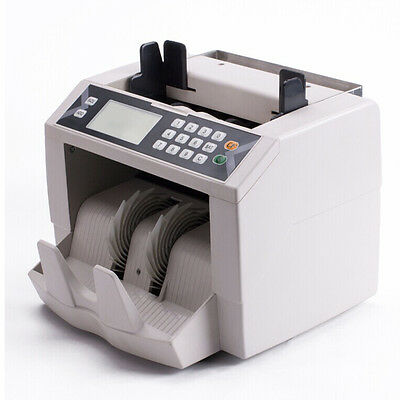 MT8 Banknote Checker Money Bill Counter Machine Worldwide Cash Counting Detector