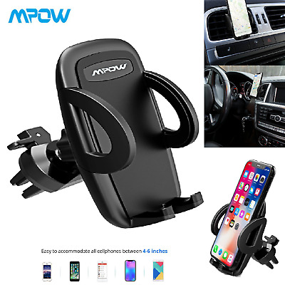Mpow Universal Mobile Phone 360 Rotate In Car Air Vent Mount Holder Cradle Stand