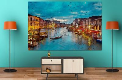 COLORFUL SCENERY ART HOME WALL DECOR BEAUTIFUL PictureS Canvas choose your size