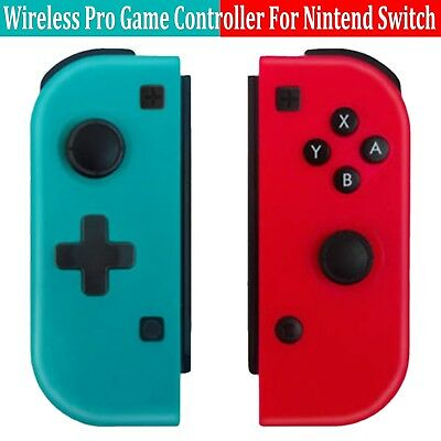 1 Pair Wireless Pro Game Controller Gamepad Joypad For Nintendo Switch Console