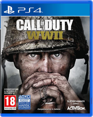 CALL OF DUTY-  WORLD WAR 2  WW2  PS4 - PLAYSTATION 4 - Nuovo SIGILLATO italiano